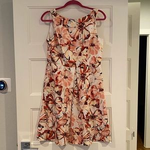 Ann Taylor LOFT floral dress, size 6